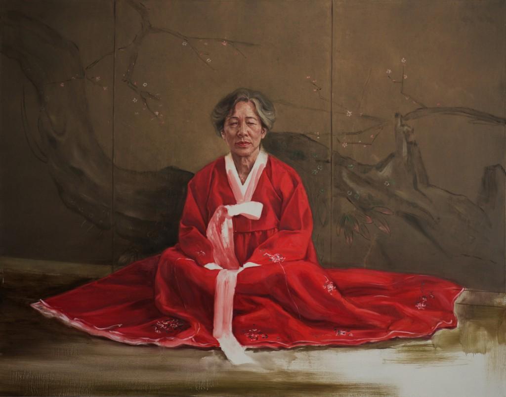 Ho-Za.-Rot-und-Weiß-125-x-160-cm-ol-auf-Leinwand-2015